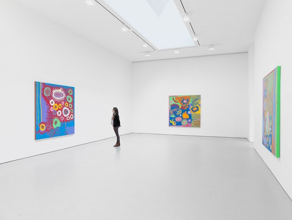"Yayoi Kusama ""I Who Have Arrived In Heaven"" @ David Zwirner, NY: YKDZSHOW2013_INSTALL-VIEW-1_SCALE_web-600x451.jpg"