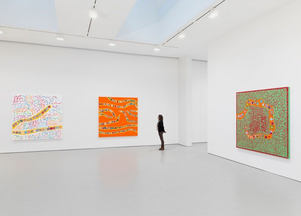 "Yayoi Kusama ""I Who Have Arrived In Heaven"" @ David Zwirner, NY: YKDZSHOW2013_INSTALL-VIEW-8_SCALE_web-600x430.jpg"