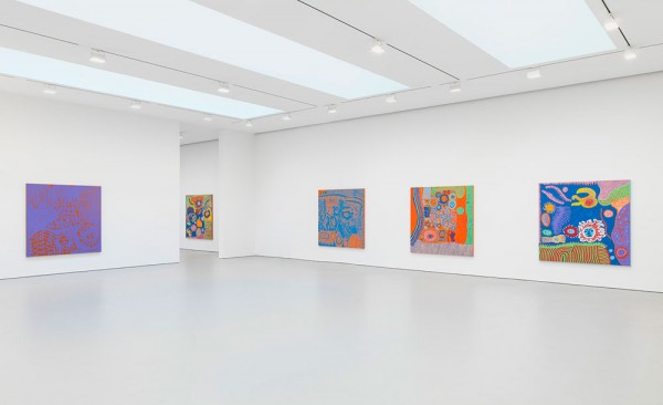 "Yayoi Kusama ""I Who Have Arrived In Heaven"" @ David Zwirner, NY: YKDZSHOW2013_VIEW-4_web-600x366.jpg"
