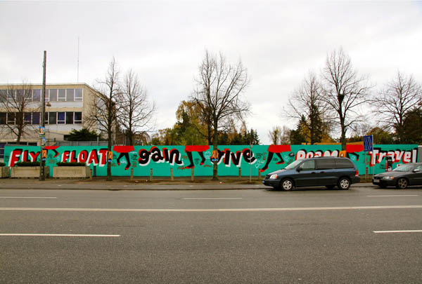 Steve Powers paints wall in front of the U.S. Embassy in Copenhagen: jux_espo3.jpg