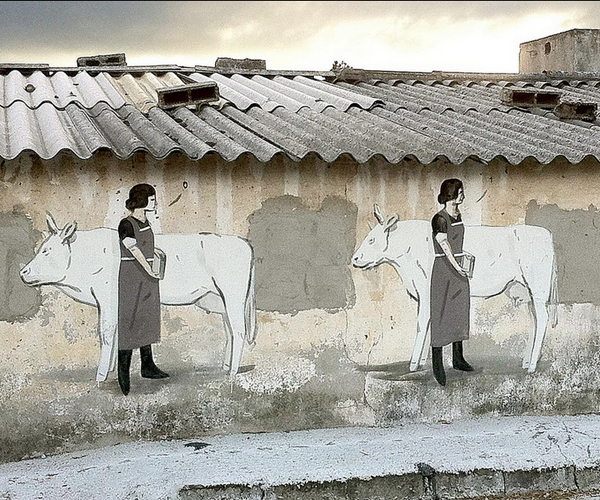 """Extra Calcium"" by Escif in Ordes, Spain: jux_escif1.png"