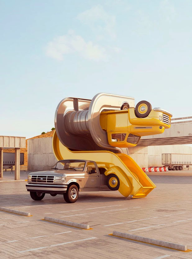 Tales of Auto Elasticity & Auto Aerobics by Chris Labrooy: JuxtapozChrisLaBrooy00.jpg
