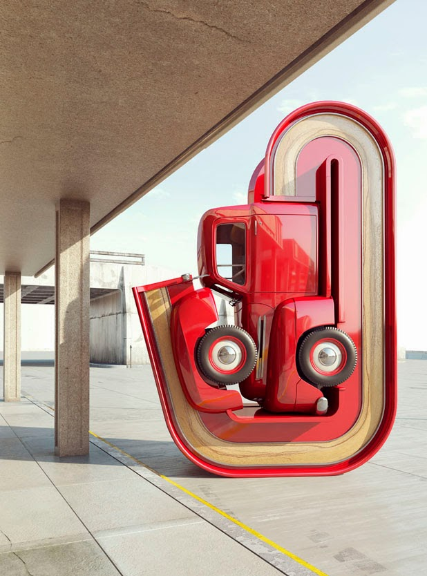 Tales of Auto Elasticity & Auto Aerobics by Chris Labrooy: JuxtapozChrisLaBrooy02.jpg