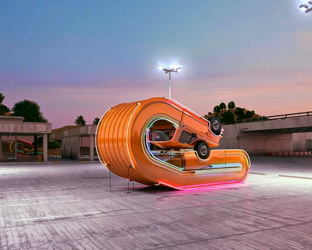 Tales of Auto Elasticity & Auto Aerobics by Chris Labrooy: JuxtapozChrisLaBrooy03.jpg