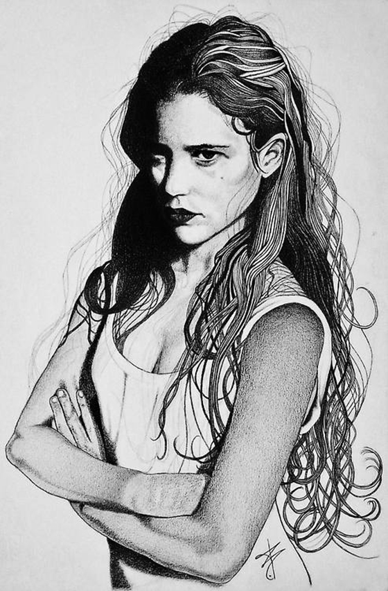 Bruno Maiorano: Girls in Graphite: tumblr_mr4cuzhlFA1rpps9go1_500.jpg