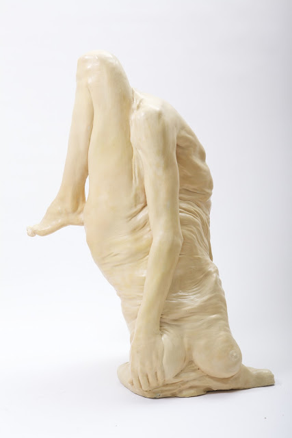Bizarre, Fleshy Sculptures by Francesco Albano: No.1_side.jpg
