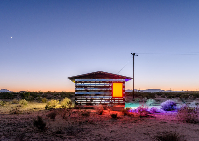 """Lucid Stead"" in the California Desert by Phillip K. Smith III: 9o5qg8p3pxofk2ew.jpg"