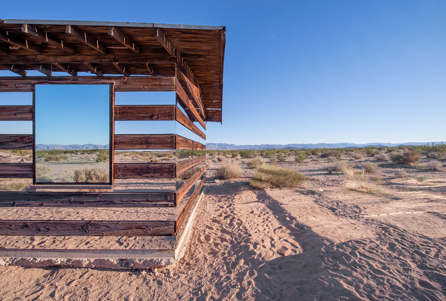 """Lucid Stead"" in the California Desert by Phillip K. Smith III: cfpxcgqezy5yor88.jpg"