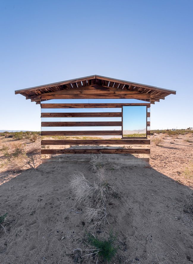 """Lucid Stead"" in the California Desert by Phillip K. Smith III: cnjg2hylt8cpyopa.jpg"