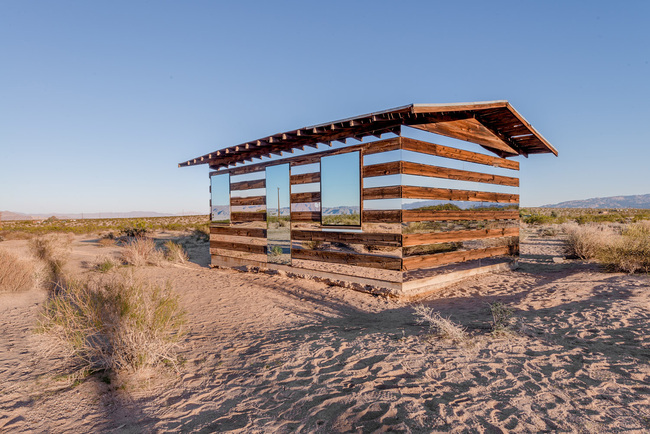 """Lucid Stead"" in the California Desert by Phillip K. Smith III: f217rgm7z3ksv57v.jpg"
