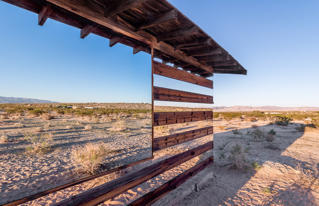 """Lucid Stead"" in the California Desert by Phillip K. Smith III: hbx0xlgh907lw32l.jpg"