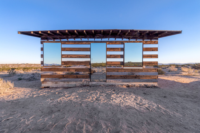 """Lucid Stead"" in the California Desert by Phillip K. Smith III: hudbh5cpwezwde9t.jpg"