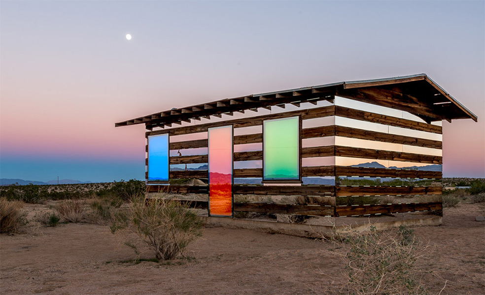 """Lucid Stead"" in the California Desert by Phillip K. Smith III: lucidstead_00.jpg"