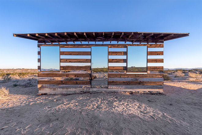 """Lucid Stead"" in the California Desert by Phillip K. Smith III: lucidstead_02.jpg"