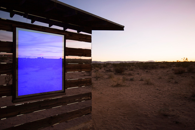 """Lucid Stead"" in the California Desert by Phillip K. Smith III: r70qtl5ov6q8r0m9.jpg"