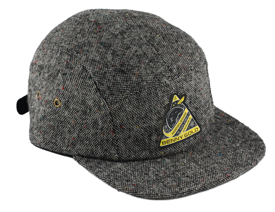 The Juxtapoz 2013 Holiday Gift Guide: JX-GG-Benny-Gold-5Panel.jpg
