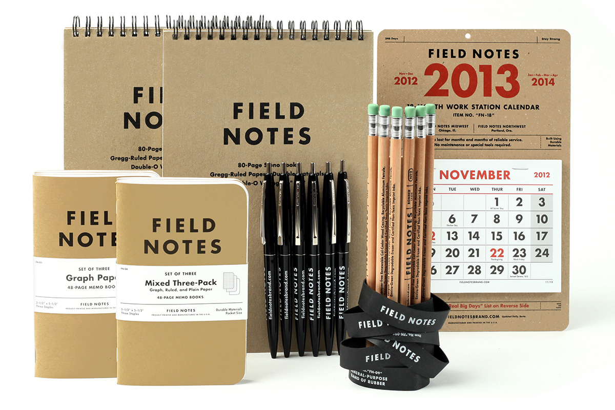 The Juxtapoz 2013 Holiday Gift Guide: JX-GG-Feild-Notes.jpg