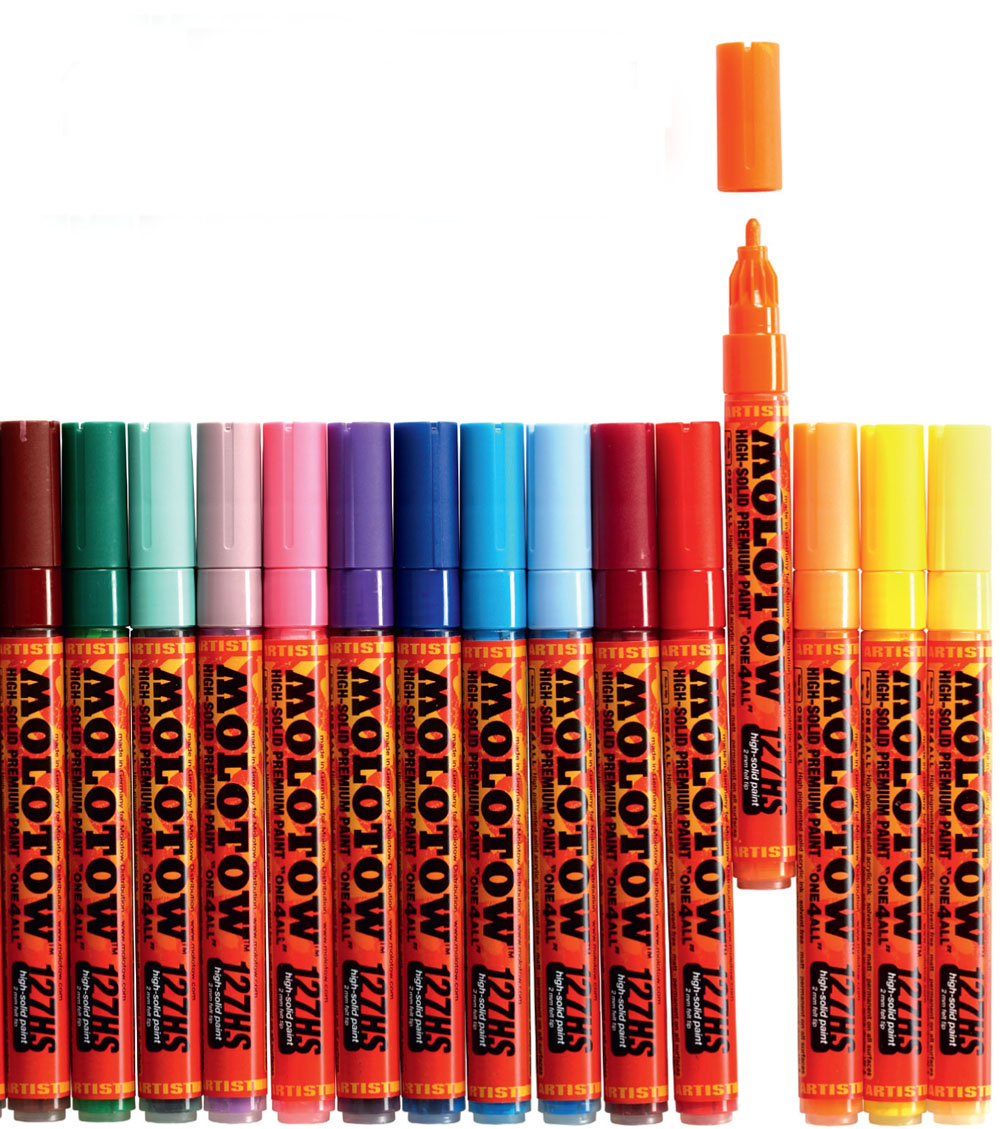 The Juxtapoz 2013 Holiday Gift Guide: JX-GG-Molotow-Markers.jpg