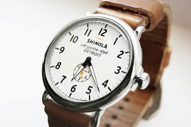 The Juxtapoz 2013 Holiday Gift Guide: JX-GG-Shinola-The-Runwell.jpg