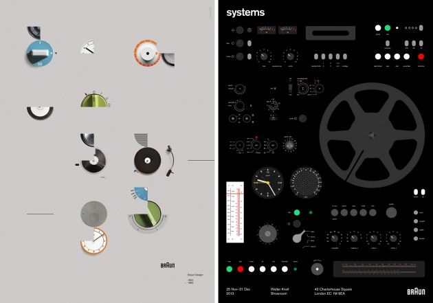 """Systems"": Dieter Rams for Braun @ Walter Knoll Showroom, London: Braun-Systems-Exhibition-4-630x441.jpg"