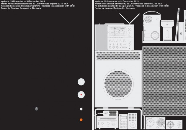 """Systems"": Dieter Rams for Braun @ Walter Knoll Showroom, London: Braun-Systems-Exhibition-7-630x441.jpg"