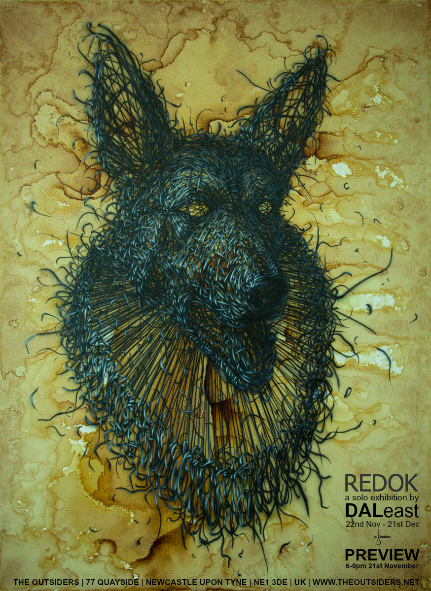 Redok a Solo Exhibition by DALeast