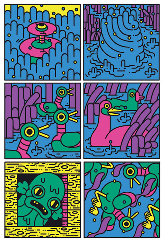 Edward Carvalho Monaghan's Psychedelic Comics: Limb2525.jpg