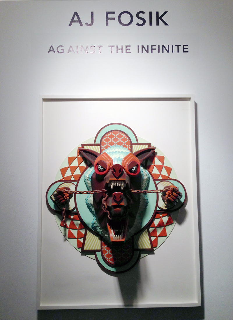 "Opening: AJ Fosik ""Against The Infinite"" @ Jonathan LeVine Gallery, NYC: aj1.JPG"