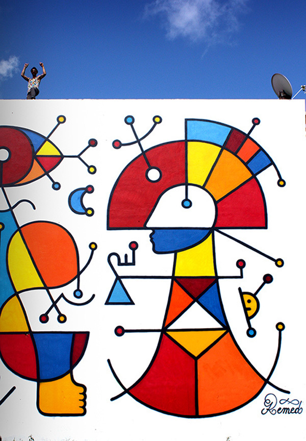 New mural by Remed in Martinique, France : jux_remed1.jpg