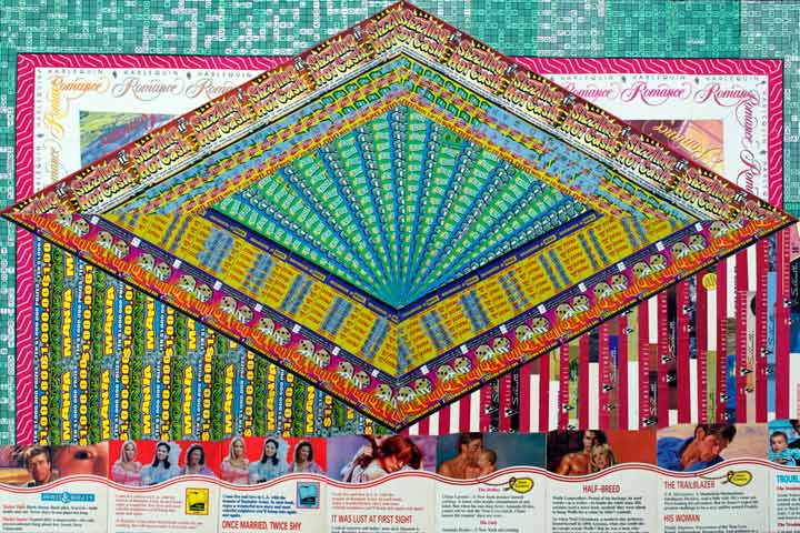 Installations Constructed From Discarded Lottery Tickets: ITWASLUSTATFIRSTSITE720web.jpg