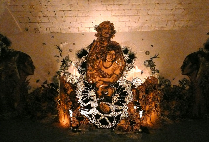 "Swoon ""Motherlands"" @ Galerie LJ, Paris: Screen shot 2013-12-02 at 8.13.44 PM.png"