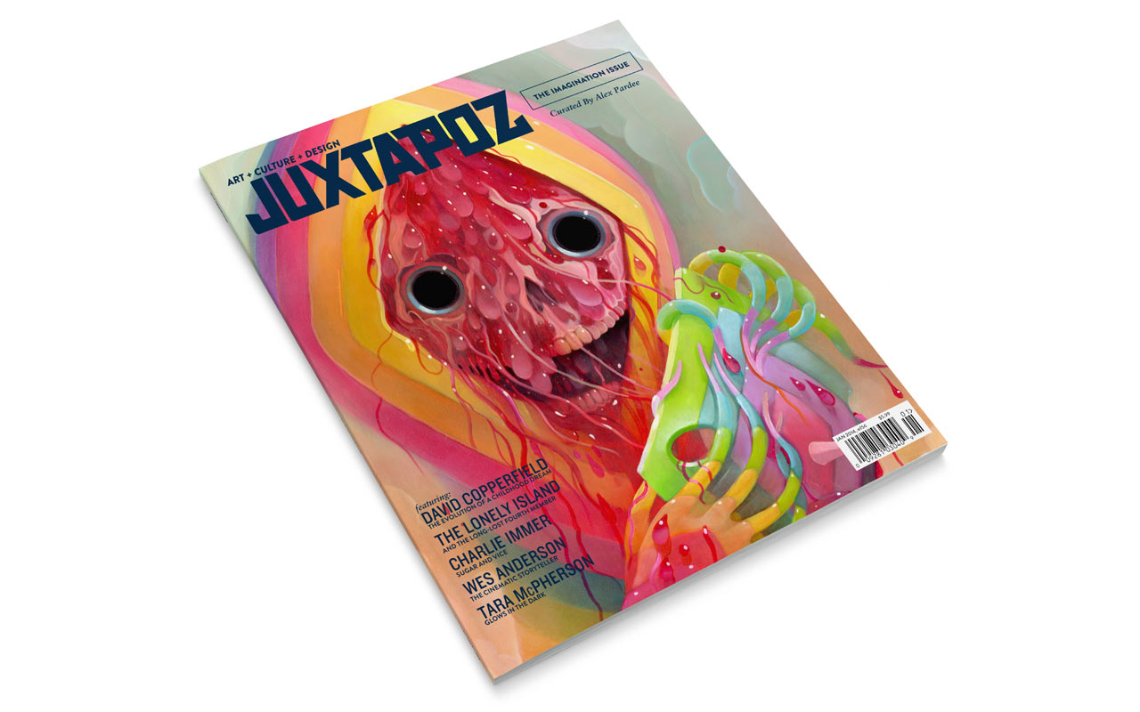 The Imagination Issue curated by Alex Pardee On Sale Now: 01JX0114_Issue_Preivew_Cover01.jpg