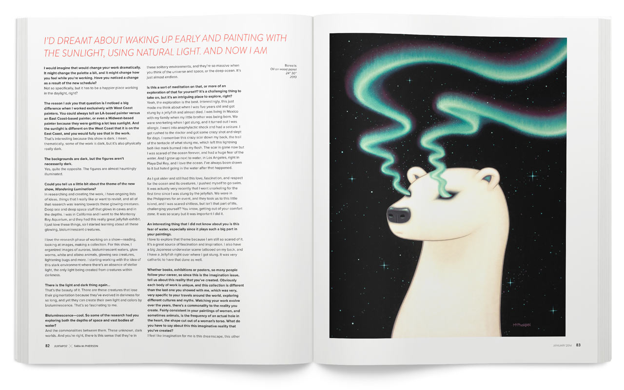 The Imagination Issue curated by Alex Pardee On Sale Now: 13JX0114_Issue_Preivew12.jpg