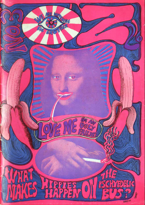 RIP, psychedelic poster artist, Martin Sharp: Screen shot 2013-12-03 at 2.58.37 PM.png