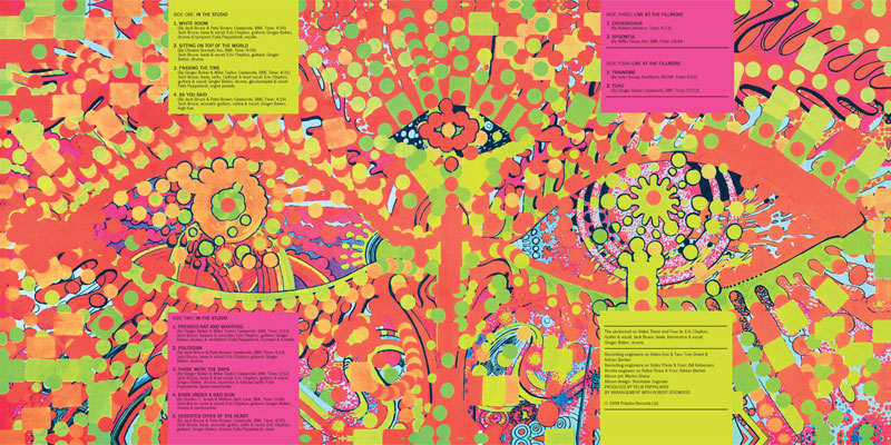 RIP, psychedelic poster artist, Martin Sharp: cream-wheels-of-fire-inside.jpg