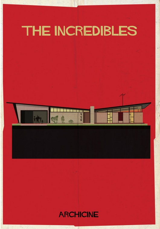 """Archicine"" Illustrations of Iconic Architecture in Film: 52949c09e8e44eba3c0000b2_archicine-illustrations-of-architecture-in-film-_archicine3-01-530x757.jpg"