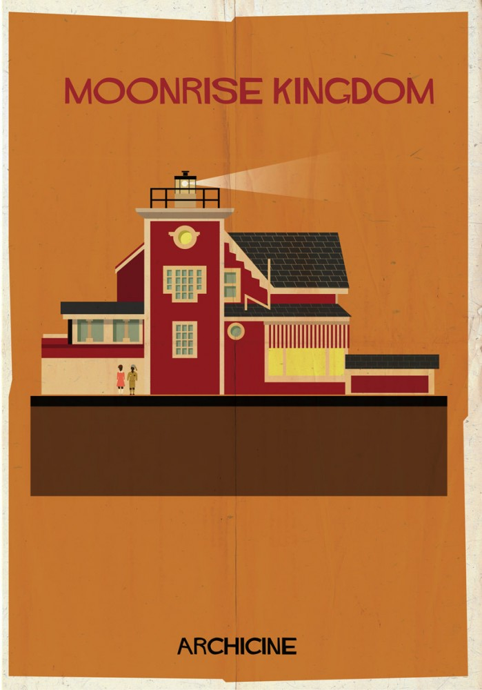 """Archicine"" Illustrations of Iconic Architecture in Film: 52949c0ce8e44e919a0000aa_archicine-illustrations-of-architecture-in-film-_archicine4-01-699x1000.jpg"