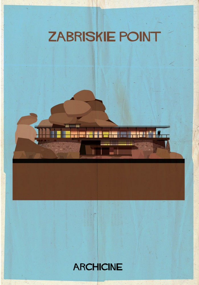 """Archicine"" Illustrations of Iconic Architecture in Film: 52949c3de8e44eb9310000b1_archicine-illustrations-of-architecture-in-film-_archicine12-01-699x1000.jpg"