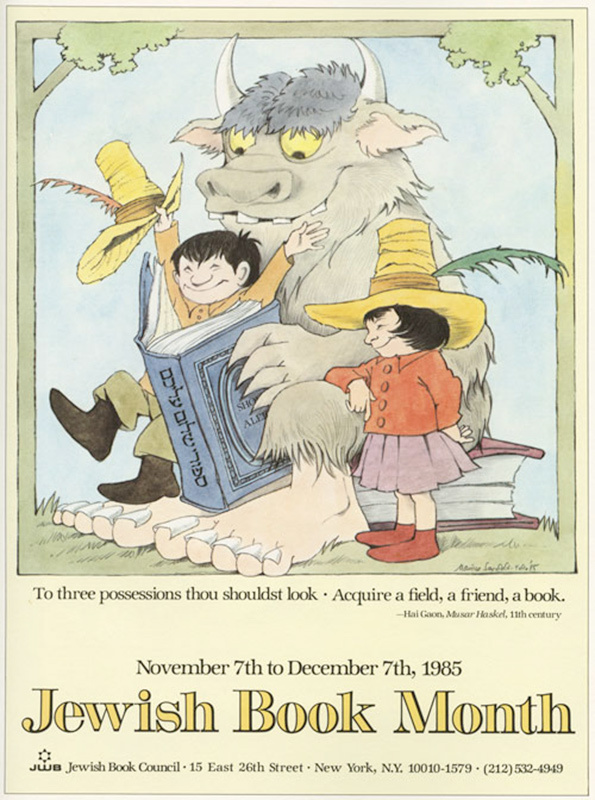 Maurice Sendak's Little Known Posters Are Wild: 1.jpg