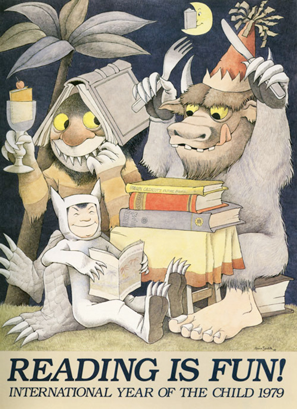 Maurice Sendak's Little Known Posters Are Wild: 4.jpg