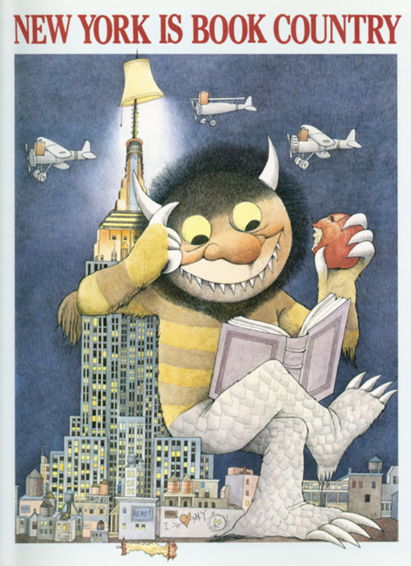 Maurice Sendak's Little Known Posters Are Wild: 5.jpg