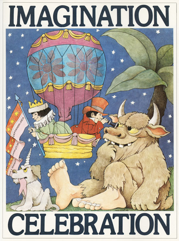 Maurice Sendak's Little Known Posters Are Wild: 7.jpg