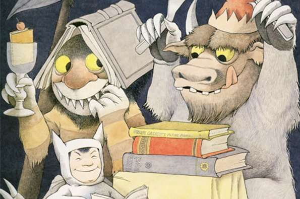 Maurice Sendak's Little Known Posters Are Wild: Top.jpg