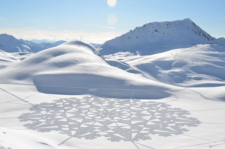 Simon Beck And His Giant Snow Crop Circles: 12.jpg