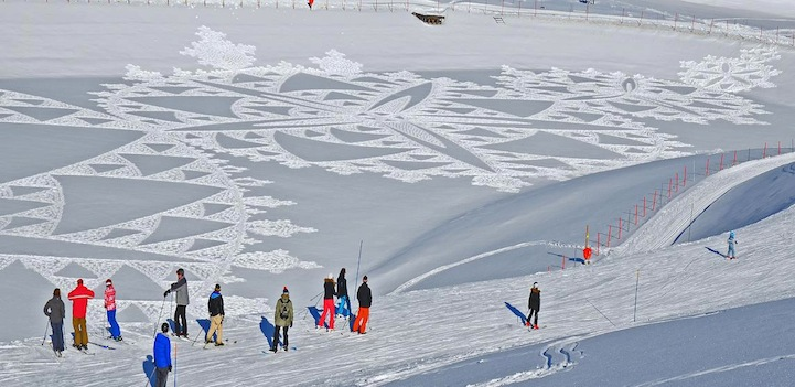 Simon Beck And His Giant Snow Crop Circles: 18.jpg