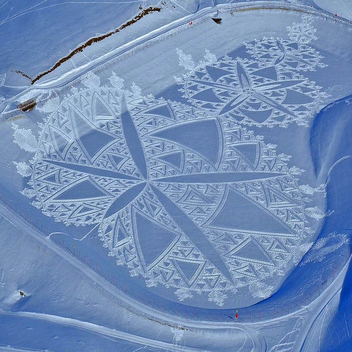 Simon Beck And His Giant Snow Crop Circles: 20.jpg