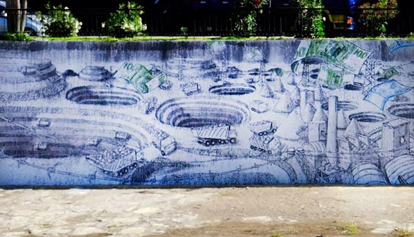New BLU mural in Santiago, Chile: jux_blu2.jpg
