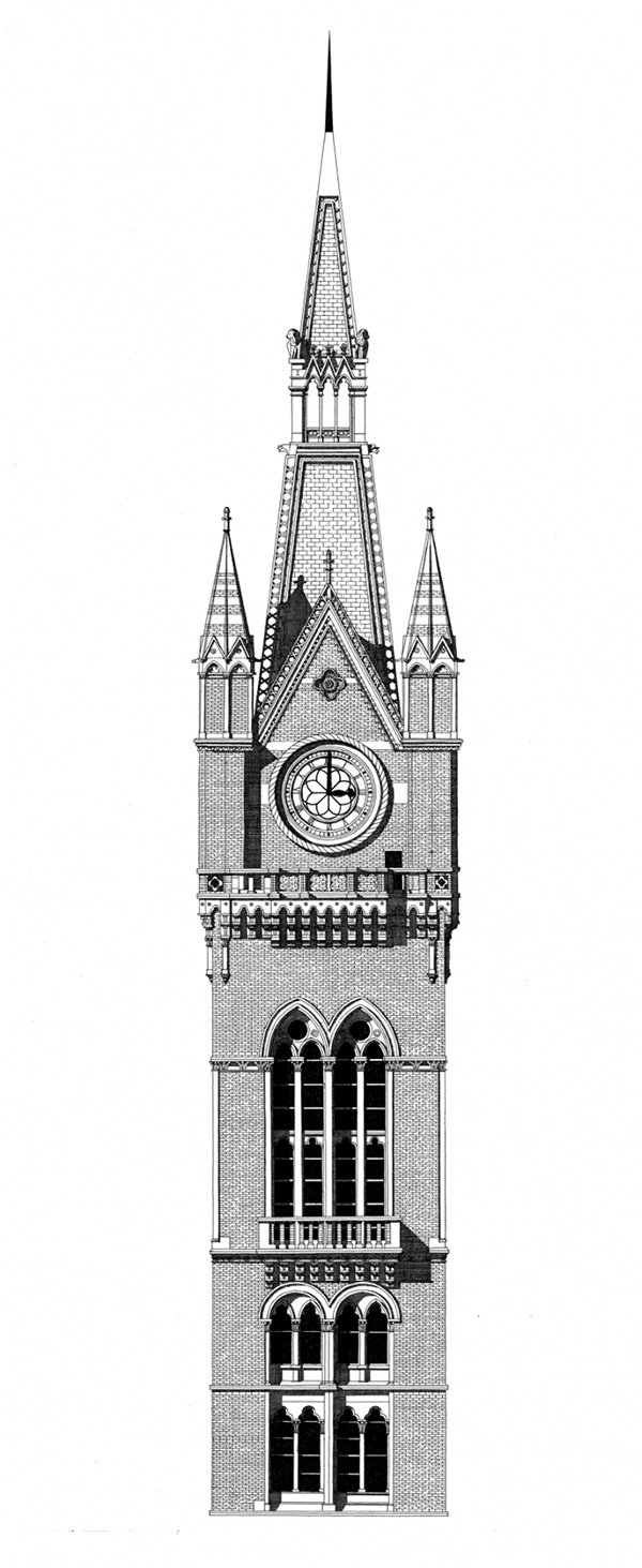 Hand-Drawn Architectural Illustrations by Thibaud Herem: st-pancras-net.jpg