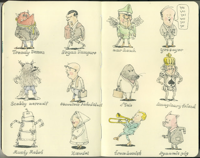 New Sketchbook Illustrations From Mattias Adolfsson: 12reasons.jpg