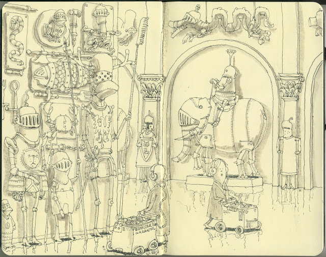 New Sketchbook Illustrations From Mattias Adolfsson: imperial.jpg